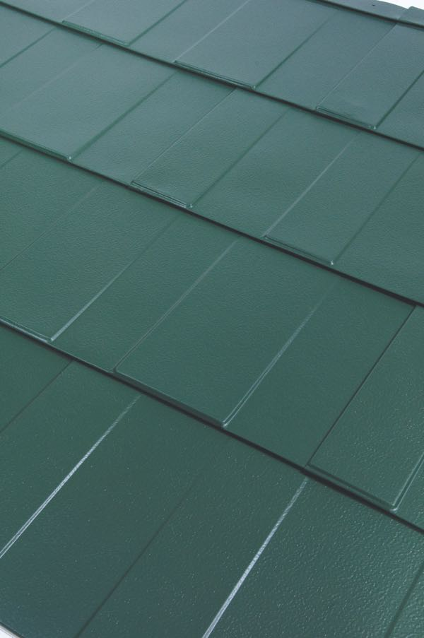 Centura Steel Shingle Green American Home
